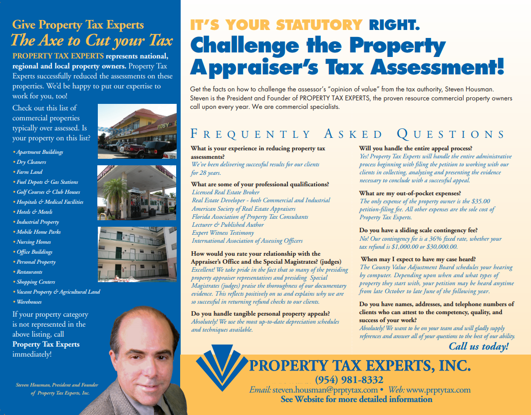 Palm Beach County Commercial And Industrial Property Tax
